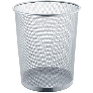 helit Papierkorb Mesh, aus Drahtmetall, 15 Liter, schwarz
