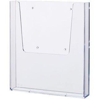 helit Wand-Prospekthalter, DIN A4, transparent