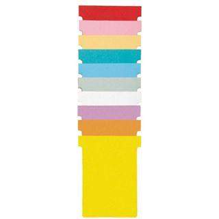 nobo T-Karten, Größe 3 / 92 mm, 170 g/qm, orange