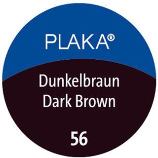 Pelikan Plaka, dunkelbraun (Nr. 56), Inhalt: 50 ml im Glas