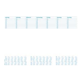 """RNK Verlag Papier-Schreibunterlage """"Office"""", mit Kalendarium"""