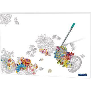 "RNK Verlag Papier-Schreibunterlage ""Noris Colour"","