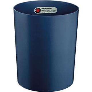 ZWINGO Sicherheits-Papierkorb, Kunststoff, 20 l, blau (Z1291834)