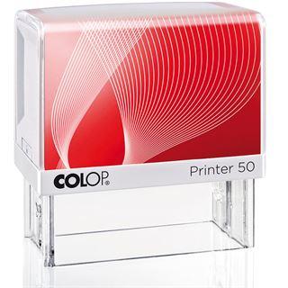 COLOP Textstempel Printer 50, 7-zeilig, mit Gutschein