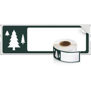 """Dymo Weihnachts-Etiketten """"Baum"""", Maße: (B)89 x (H)28"""