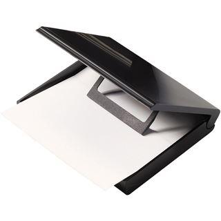 helit Zettelkasten, DIN A7, mit Papiervorschub, schwarz
