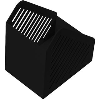 helit Stehsammler Gitterstruktur, DIN A5, Polystyrol,schwarz