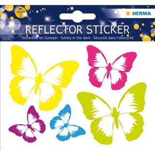 "HERMA Reflektorsticker ""Schmetterling"""