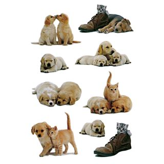 "HERMA Sticker DECOR ""Hundewelpen"""