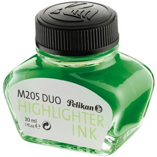 Pelikan Textmarker-Tinte im Glas, leuchtgrün