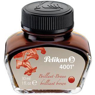Pelikan Tinte 4001 im Glas, braun, Inhalt: 30 ml
