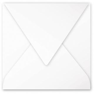 Clairefontaine Briefumschlag 165 mm, weiß