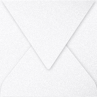 Clairefontaine Briefumschlag 140 mm, perlmutt-weiß
