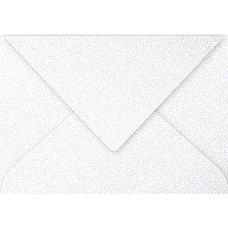Clairefontaine Briefumschlag C5, perlmutt-weiß
