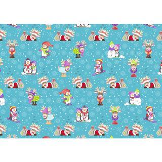 """SUSY CARD Weihnachts-Geschenkpapier """"Snow & Fun"""""""