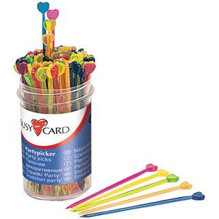"""SUSY CARD Partypicker """"Herz"""", aus Kunststoff"""