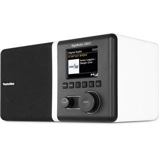 TechniSat DigitRadio 300 C DAB+/DAB und UKW Radio weiß