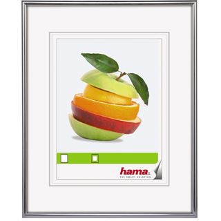 "hama Bilderrahmen ""Sevilla Dekor"", 20 x 30 cm, silber matt"