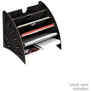 Fellowes GmbH Sortierelement EARTH, DIN A4, aus Holz, schwarz
