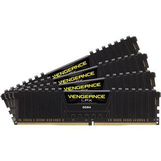 32GB Corsair Vengeance LPX C schwarz DDR4-3000 DIMM CL15 Quad Kit