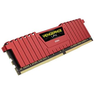 4GB Corsair Vengeance LPX rot DDR4-2400 DIMM CL16 Single