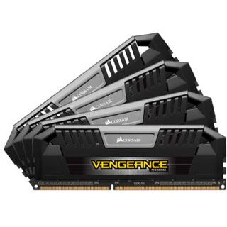 32GB Corsair Vengeance Pro schwarz DDR3-2133 DIMM CL11 Quad Kit