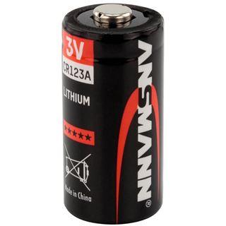 ANSMANN CR123A Lithium Batterie 3.0 V 1er Pack