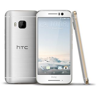 HTC One S9 16 GB gold/silber