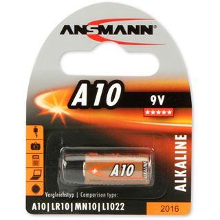 Ansmann Alkaline Batterie A10, 9 Volt, 1er Blister
