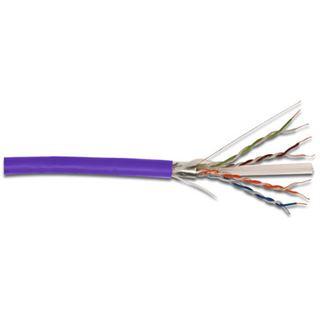 (€0,51*/1m) 305.00m Digitus Cat. 6 Verlegekabel U/UTP Violett halogenfrei / LSOH