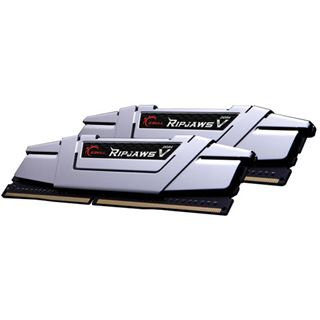 16GB G.Skill RipJaws V silber DDR4-3200 DIMM CL16 Dual Kit
