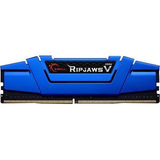 16GB G.Skill RipJaws V blau DDR4-2400 DIMM CL15 Dual Kit
