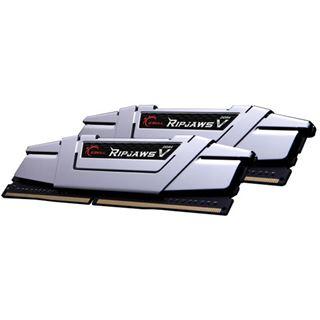 16GB G.Skill RipJaws V silber DDR4-2666 DIMM CL15 Dual Kit