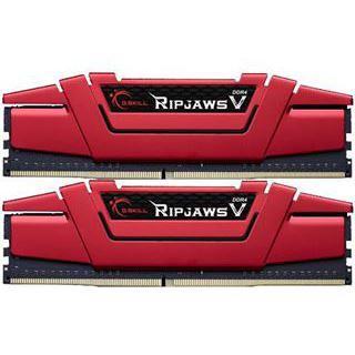 16GB G.Skill RipJaws V rot DDR4-2800 DIMM CL16 Dual Kit