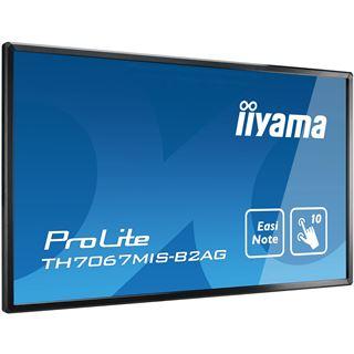 "70"" (177,80cm) iiyama ProLite TH7067MIS-B2AG schwarz 1920x1080"