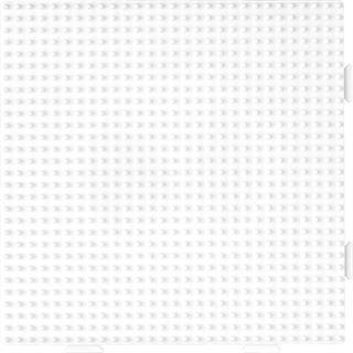 """Hama Stiftplatte """"großes Quadrat"""", weiß"""