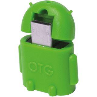 LogiLink USB 2.0 OTG Adapter, grün