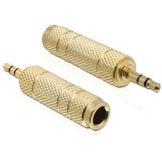 Delock Audio Adapter 3.5mm Klinke Stecker Stereo auf 6.3mm Klinke