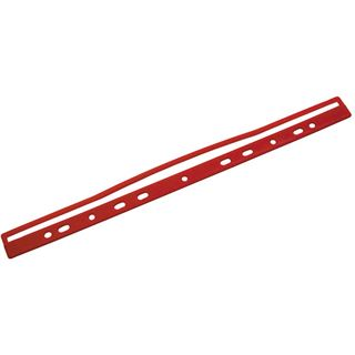 Helit Ordnungsschiene M-Clip, rot, Inhalt: 100 Stück