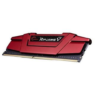 32GB G.Skill RipJaws V rot DDR4-2666 DIMM CL15 Dual Kit