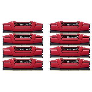 64GB G.Skill RipJaws V rot DDR4-3200 DIMM CL16 Octa Kit