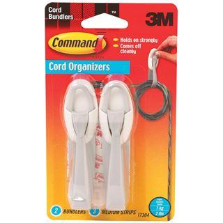3M Command Kabelmanagement - Kabelhänger, weiß