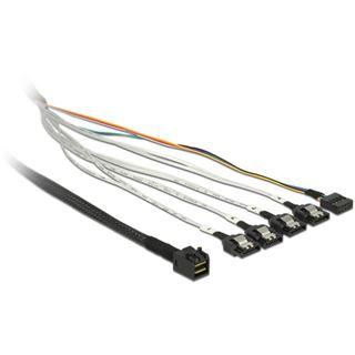 (€63,80*/1m) 0.50m Delock SAS Adapterkabel SFF-8643 Stecker auf