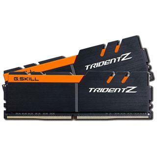 32GB G.Skill Trident Z schwarz/orange DDR4-3200 DIMM CL14 Dual Kit