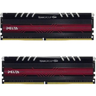16GB TeamGroup Delta DDR4-3000 DIMM CL16 Dual Kit