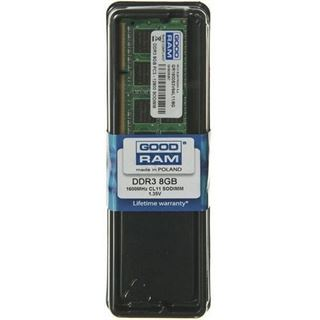 8GB GOODRAM GR1600S3V64L11 DDR3L-1600 SO-DIMM CL11 Single