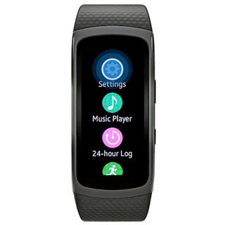 Samsung Gear Fit2 - Small (125 ~ 170mm) - dunkelgrau