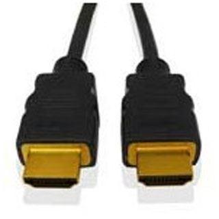 (€10,50*/1m) 1.80m Fujitsu HDMI1.3 Adapterkabel HDMI-Stecker auf DVI 18+1 Stecker Schwarz