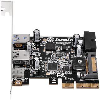 Silverstone SST-ECU05, 1x USB3.1 Typ-C + 2x USB3.0 + 2x intern USB3.0