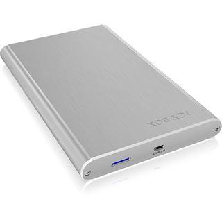"ICY BOX IB-242U2 2.5"" (6,35cm) USB 2.0 silber"